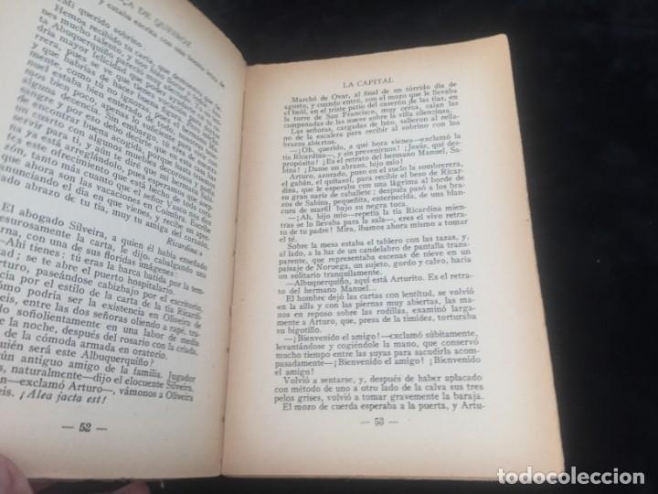 Libros antiguos: La Capital novela EÇA DE QUEIROZ, José María Editorial Signo 1930 - Foto 4 - 143684998