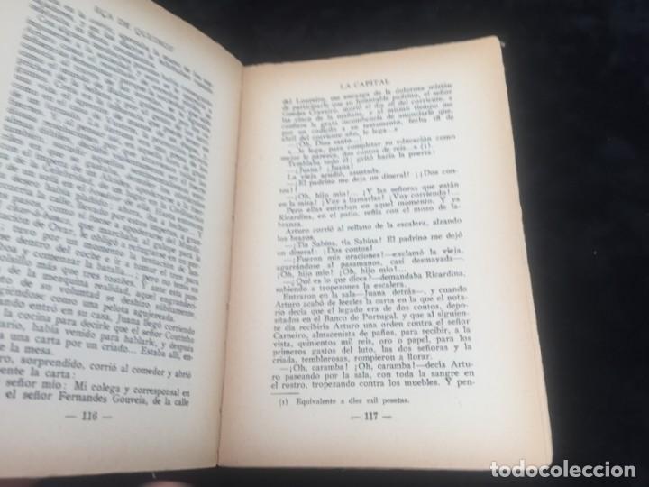 Libros antiguos: La Capital novela EÇA DE QUEIROZ, José María Editorial Signo 1930 - Foto 5 - 143684998