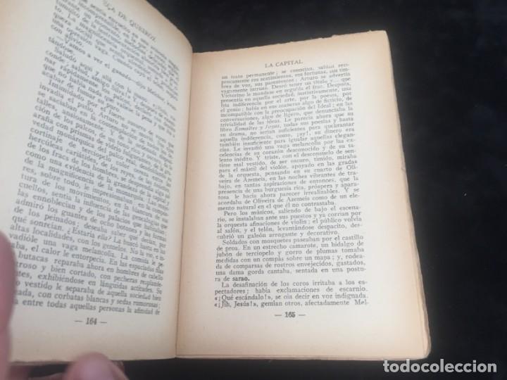 Libros antiguos: La Capital novela EÇA DE QUEIROZ, José María Editorial Signo 1930 - Foto 6 - 143684998