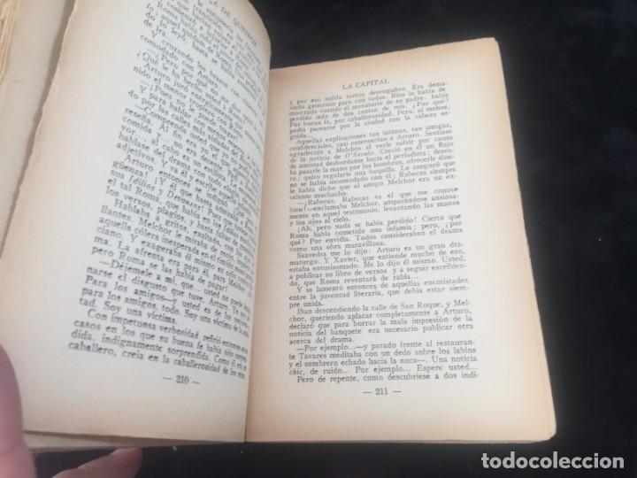 Libros antiguos: La Capital novela EÇA DE QUEIROZ, José María Editorial Signo 1930 - Foto 7 - 143684998