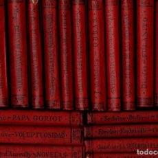 Libros antiguos: 32 TOMOS ESCRITORES FRANCESES (CALPE, 1920.25) VICTOR HUGO, MOLIERE, FLAUBERT, FENELON, DAUDET.... Lote 143787118