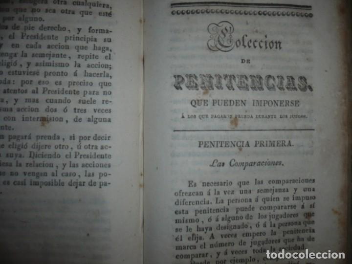 Alte Bücher: NUEVA COLECCION DE 84 JUEGOS DE PRENDAS 1837 BARCELONA - Foto 12 - 144055806