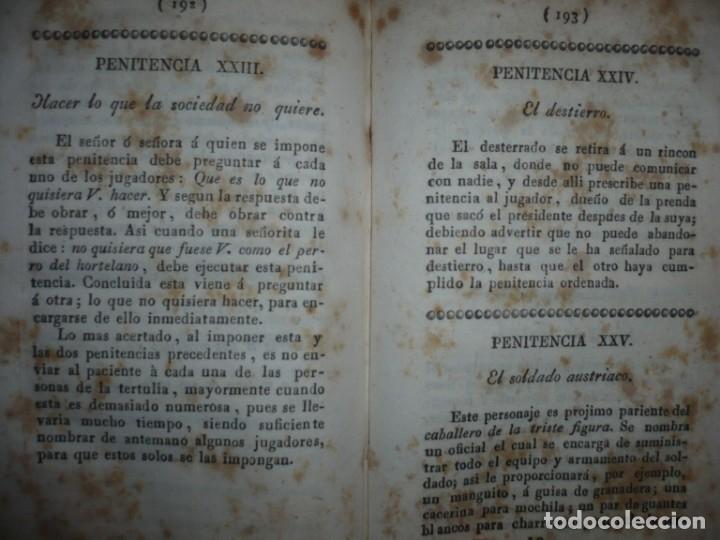 Alte Bücher: NUEVA COLECCION DE 84 JUEGOS DE PRENDAS 1837 BARCELONA - Foto 13 - 144055806