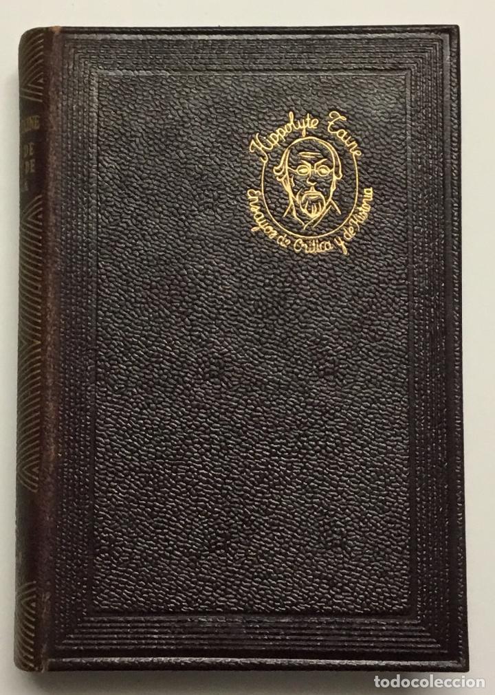 Libros antiguos: HIPPOLYTE TAINE. ENSAYOS DE CRITICA Y DE HISTORIA. AGUILAR, 1953. 1ª EDICIÓN. JOYA. - Foto 3 - 144328218