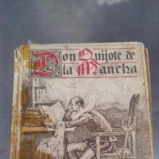 Libros antiguos: DON QUIJOTE DE LA MANCHA. ED. SATURNINO CALLEJA MADRID 1905, MEDIDAS DEL LIBRO-16, 5X13 CM, 604 PAG. Lote 144491814