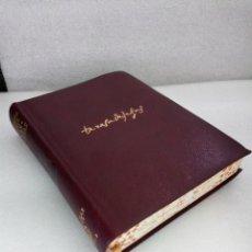 Libros antiguos: SANTA TERESA DE JESUS OBRAS COMPLETAS AGUILAR MADRID 1940 CANTOS PINTADOS. Lote 144702606