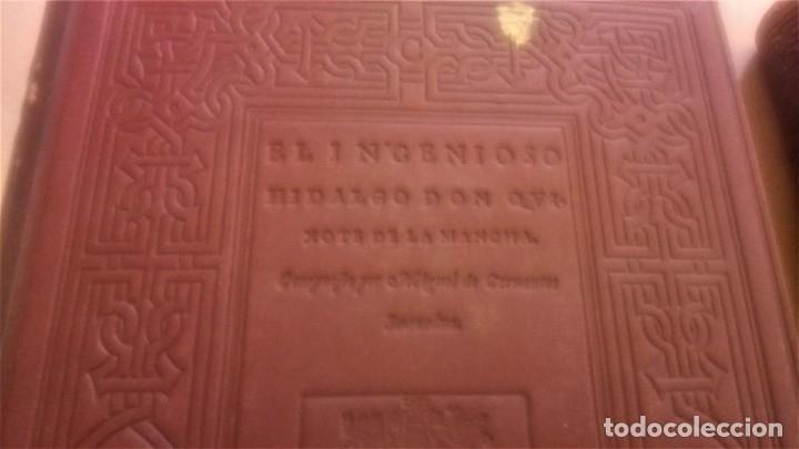 Libros antiguos: II TOMOS DON QUIJOTE DE LA MANCHA PRIMERA EDICION 1608 Y 1615,PRIMERA EDICION FACSIMIL1897,CERVANTES - Foto 7 - 144751742