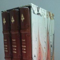 Libros antiguos: GUERRA DE LAS GALIAS / JULIO CÉSAR. GREDOS. ED BILINGÜE EN LATÍN Y ESPAÑOL. ENCUADERNACIÓN ARTESANAL. Lote 145187218