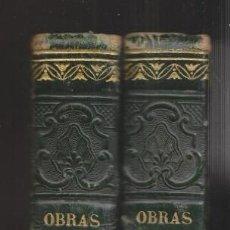 Libros antiguos: MARIANO JOSÉ DE LARRA: OBRAS COMPLETAS. TOMOS I Y II. MADRID, 1843. PRIMERA EDICIÓN. Lote 145419114