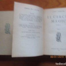Libri antichi: 2 VOLUMS EL CERCLE MÀGIC - JOAN PUIG I FERRETER - ED. PROA, 1929 -1ª EDICION. Lote 146060482