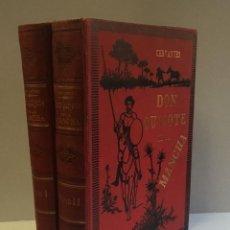 Libros antiguos: EL INGENIOSO HIDALGO DON QUIJOTE DE LA MANCHA. - CERVANTES SAAVEDRA, MIGUEL DE.. Lote 123174576