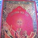 Libros antiguos: LEYENDA DEL CID- ZORRILLA (VERSO) 1882- COLECCIONISTAS Y BIBLIOFILOS- BUEN ESTADO-. Lote 146592954