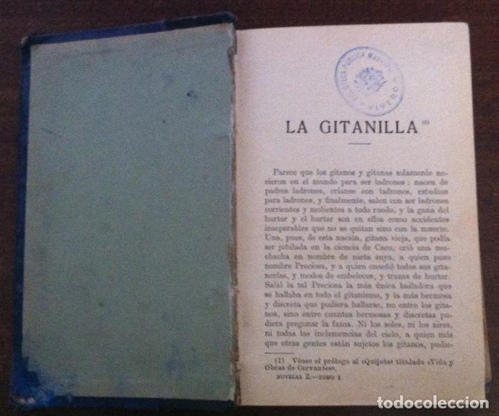 Libros antiguos: Novelas ejemplares, Miguel de Cervantes - Biblioteca Municipal de Madrid, II República - Foto 2 - 146654502