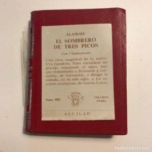 CRISOLÍN. Nº 033. EL SOMBRERO DE TRES PICOS. ALARCÓN. 1971. AGUILAR