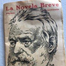 Libros antiguos: EL REY SE DIVIERTE. VICTOR HUGO, . LA NOVELA BREVE. Lote 147314142