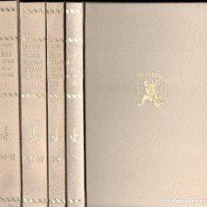 Libros antiguos: RAMON LLULL : LLIBRE DE EVAST I BLANQUERNA - 4 VOLUMS (NOSTRES CLÀSSICS BARCINO, 1935-54) CATALÀ. Lote 147620422