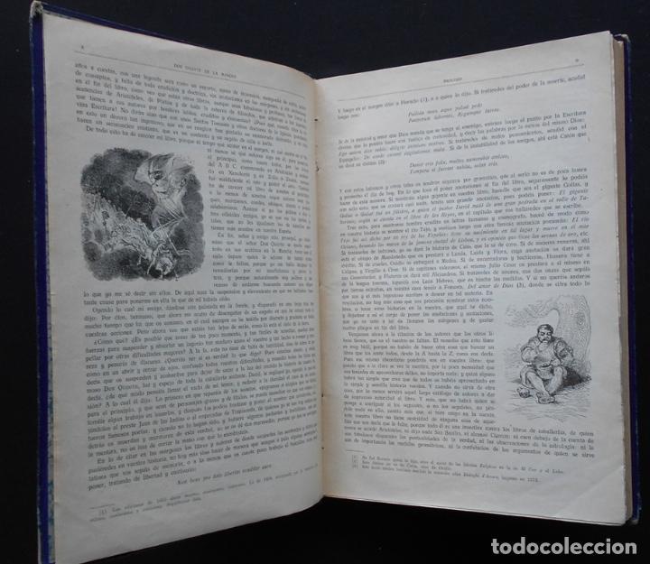 Libros antiguos: PCBROS - DON QUIJOTE DE LA MANCHA - M. DE CERVANTES S. - ED. MAUCCI - 683 GRABADOS AL BOJ - 599 PÁGS - Foto 8 - 147979266