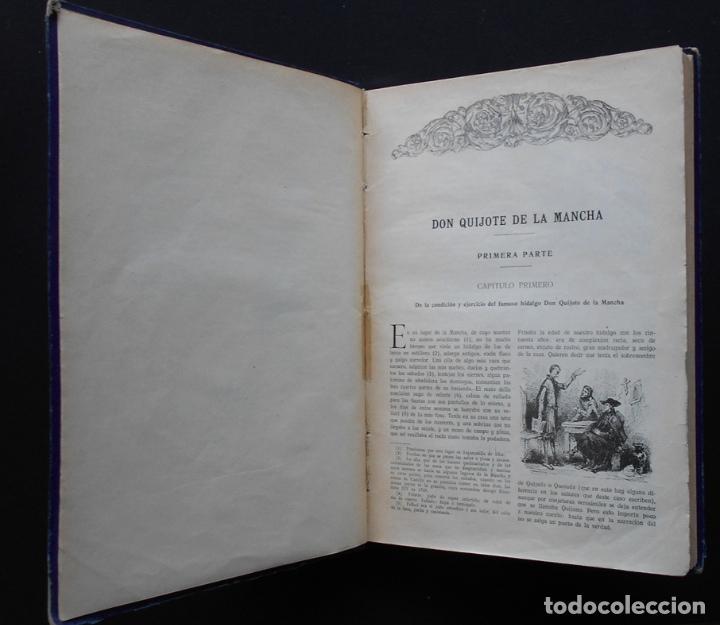 Libros antiguos: PCBROS - DON QUIJOTE DE LA MANCHA - M. DE CERVANTES S. - ED. MAUCCI - 683 GRABADOS AL BOJ - 599 PÁGS - Foto 9 - 147979266