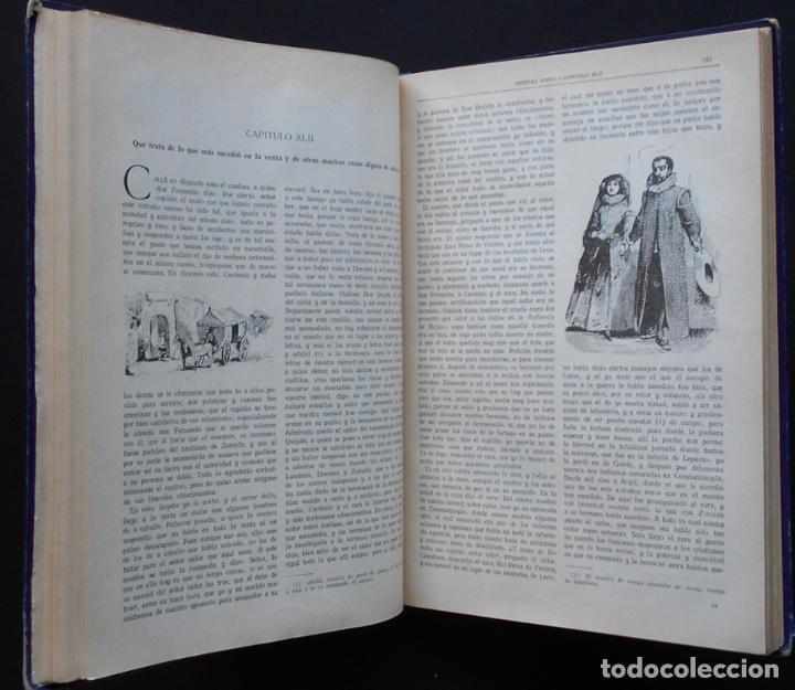 Libros antiguos: PCBROS - DON QUIJOTE DE LA MANCHA - M. DE CERVANTES S. - ED. MAUCCI - 683 GRABADOS AL BOJ - 599 PÁGS - Foto 15 - 147979266