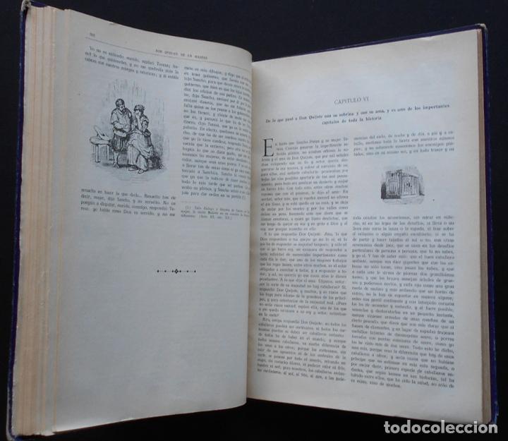Libros antiguos: PCBROS - DON QUIJOTE DE LA MANCHA - M. DE CERVANTES S. - ED. MAUCCI - 683 GRABADOS AL BOJ - 599 PÁGS - Foto 22 - 147979266