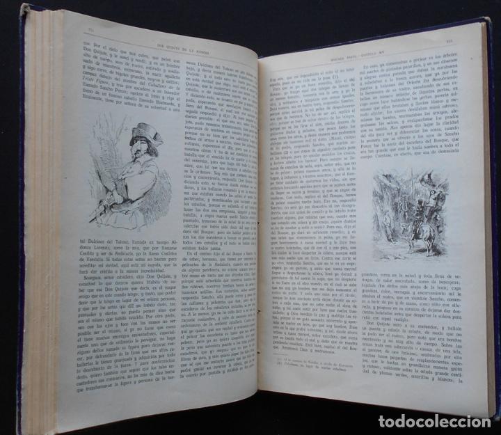 Libros antiguos: PCBROS - DON QUIJOTE DE LA MANCHA - M. DE CERVANTES S. - ED. MAUCCI - 683 GRABADOS AL BOJ - 599 PÁGS - Foto 23 - 147979266