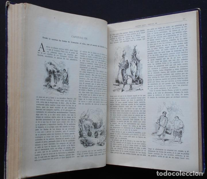 Libros antiguos: PCBROS - DON QUIJOTE DE LA MANCHA - M. DE CERVANTES S. - ED. MAUCCI - 683 GRABADOS AL BOJ - 599 PÁGS - Foto 24 - 147979266