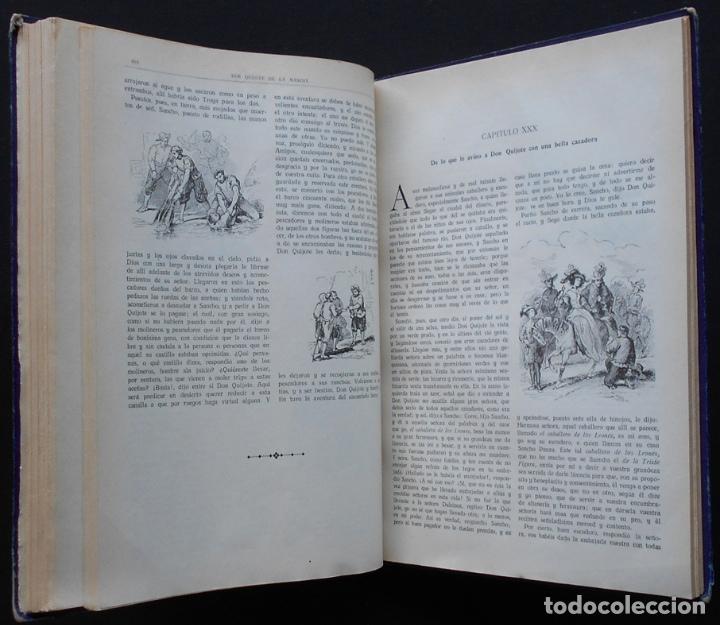 Libros antiguos: PCBROS - DON QUIJOTE DE LA MANCHA - M. DE CERVANTES S. - ED. MAUCCI - 683 GRABADOS AL BOJ - 599 PÁGS - Foto 25 - 147979266