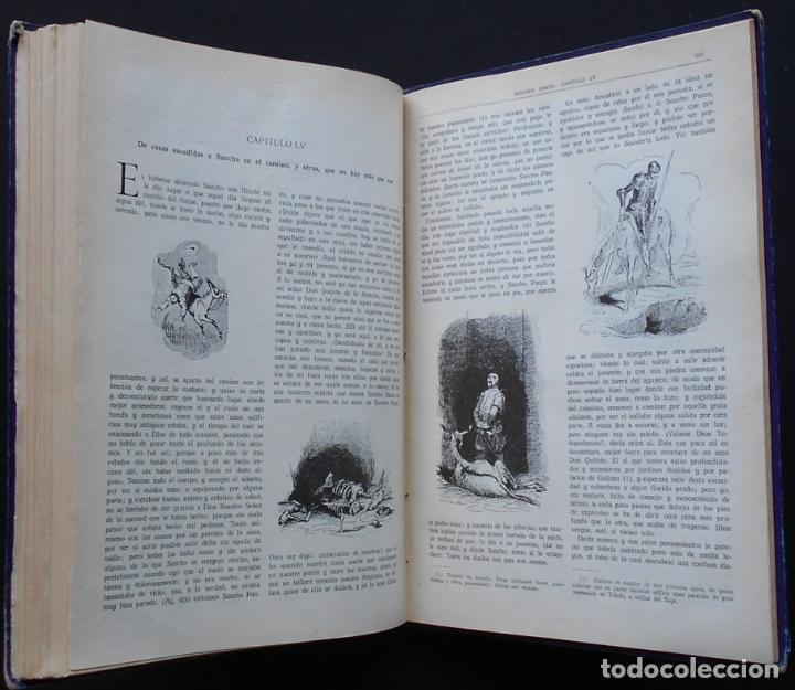 Libros antiguos: PCBROS - DON QUIJOTE DE LA MANCHA - M. DE CERVANTES S. - ED. MAUCCI - 683 GRABADOS AL BOJ - 599 PÁGS - Foto 27 - 147979266