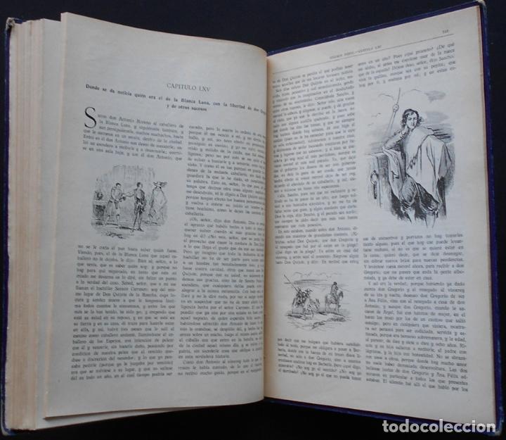 Libros antiguos: PCBROS - DON QUIJOTE DE LA MANCHA - M. DE CERVANTES S. - ED. MAUCCI - 683 GRABADOS AL BOJ - 599 PÁGS - Foto 28 - 147979266