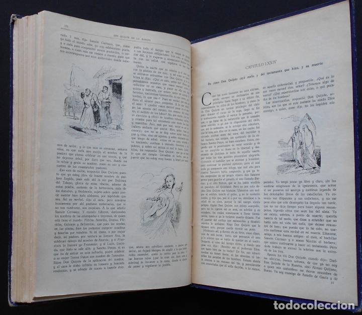 Libros antiguos: PCBROS - DON QUIJOTE DE LA MANCHA - M. DE CERVANTES S. - ED. MAUCCI - 683 GRABADOS AL BOJ - 599 PÁGS - Foto 29 - 147979266