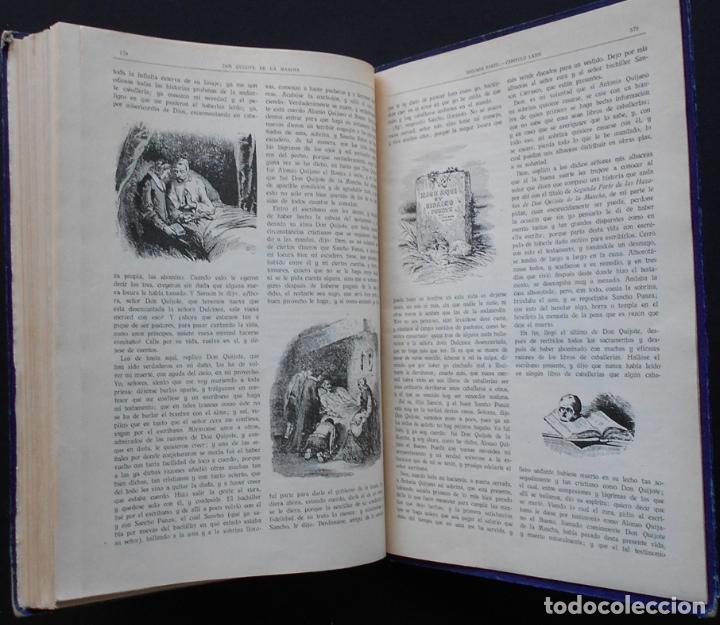 Libros antiguos: PCBROS - DON QUIJOTE DE LA MANCHA - M. DE CERVANTES S. - ED. MAUCCI - 683 GRABADOS AL BOJ - 599 PÁGS - Foto 30 - 147979266