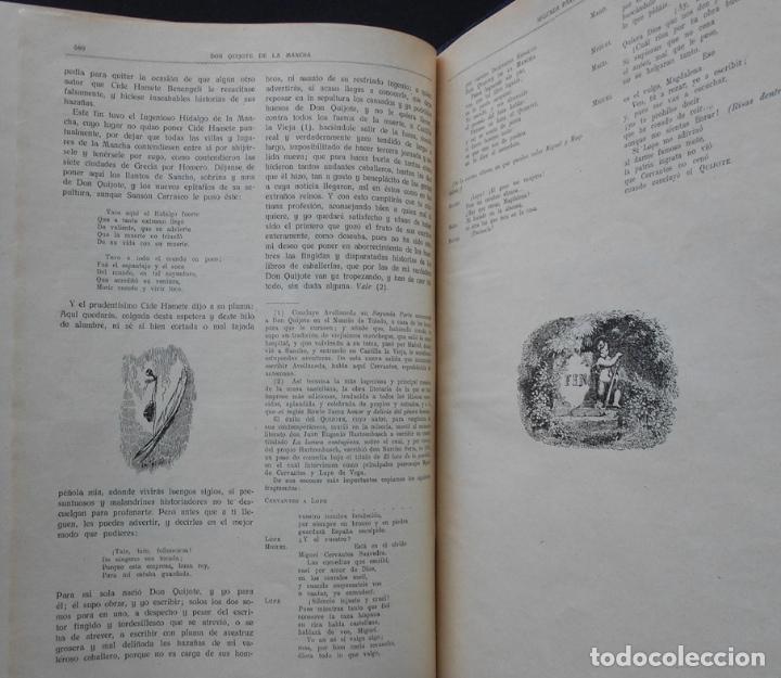 Libros antiguos: PCBROS - DON QUIJOTE DE LA MANCHA - M. DE CERVANTES S. - ED. MAUCCI - 683 GRABADOS AL BOJ - 599 PÁGS - Foto 32 - 147979266
