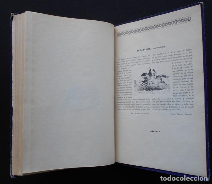Libros antiguos: PCBROS - DON QUIJOTE DE LA MANCHA - M. DE CERVANTES S. - ED. MAUCCI - 683 GRABADOS AL BOJ - 599 PÁGS - Foto 33 - 147979266