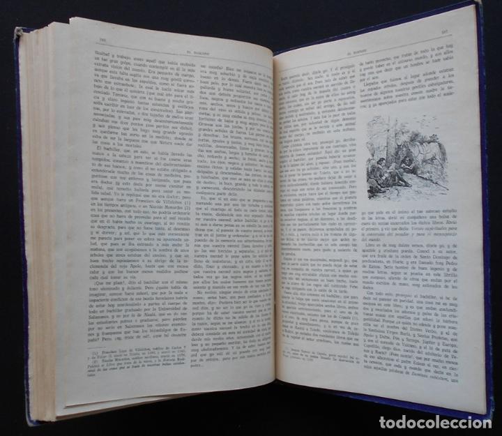Libros antiguos: PCBROS - DON QUIJOTE DE LA MANCHA - M. DE CERVANTES S. - ED. MAUCCI - 683 GRABADOS AL BOJ - 599 PÁGS - Foto 34 - 147979266