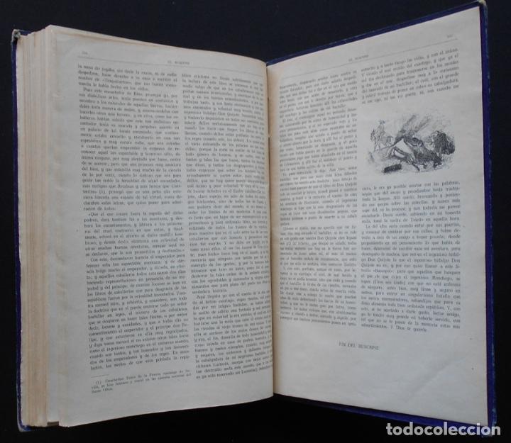 Libros antiguos: PCBROS - DON QUIJOTE DE LA MANCHA - M. DE CERVANTES S. - ED. MAUCCI - 683 GRABADOS AL BOJ - 599 PÁGS - Foto 35 - 147979266