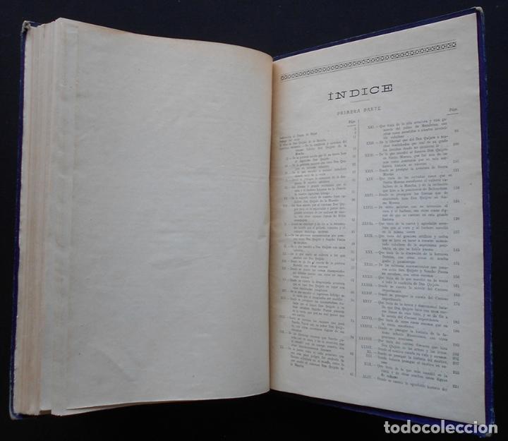 Libros antiguos: PCBROS - DON QUIJOTE DE LA MANCHA - M. DE CERVANTES S. - ED. MAUCCI - 683 GRABADOS AL BOJ - 599 PÁGS - Foto 36 - 147979266