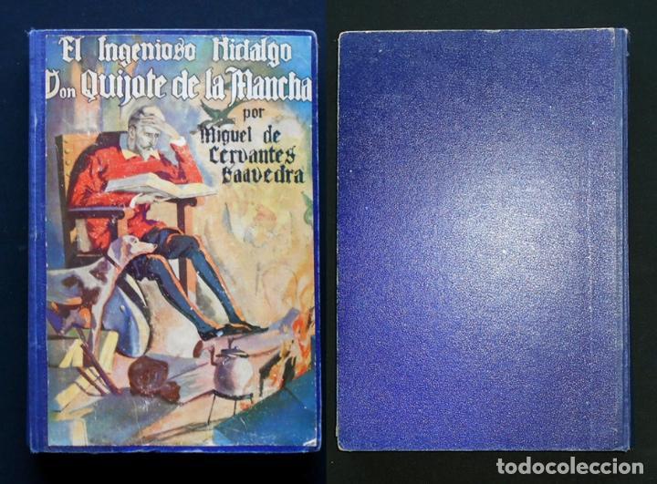 Libros antiguos: PCBROS - DON QUIJOTE DE LA MANCHA - M. DE CERVANTES S. - ED. MAUCCI - 683 GRABADOS AL BOJ - 599 PÁGS - Foto 41 - 147979266