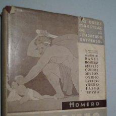 Libros antiguos: LA ODISEA. HOMERO. Lote 148078922