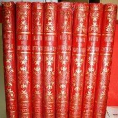 Libros antiguos: QUIJOTE DEL CENTENARIO. EL INGENIOSO HIDALGO DON QUIJOTE DE LA MANCHA. 8 TOMOS - CERVANTES SAAVEDRA,. Lote 105505255