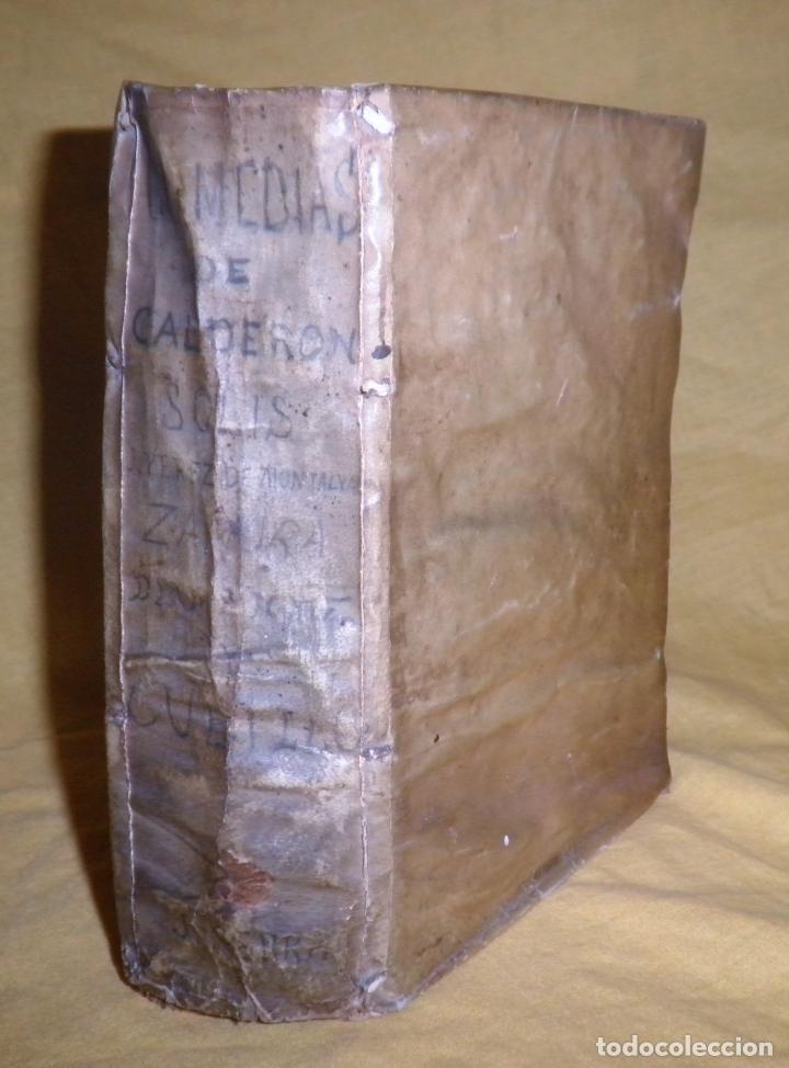 AMENO JARDIN DE COMEDIAS - AÑO 1734 - COMEDIAS SIGLO DE ORO ESPAÑOL - PERGAMINO·MUY RARO. (Libros antiguos (hasta 1936), raros y curiosos - Literatura - Narrativa - Clásicos)