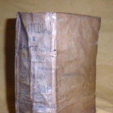 Libros antiguos: AMENO JARDIN DE COMEDIAS - AÑO 1734 - COMEDIAS SIGLO DE ORO ESPAÑOL - PERGAMINO·MUY RARO.. Lote 148475150