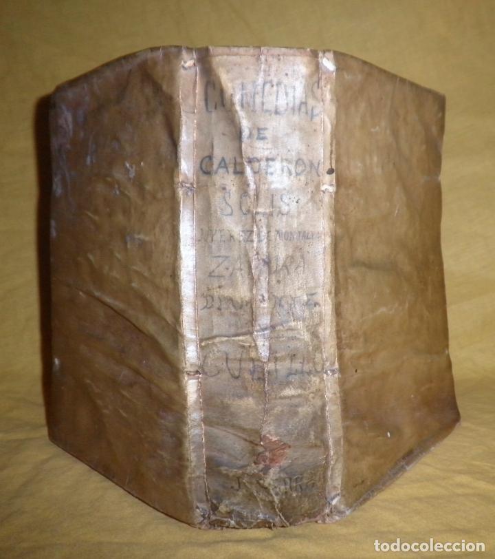 Libros antiguos: AMENO JARDIN DE COMEDIAS - AÑO 1734 - COMEDIAS SIGLO DE ORO ESPAÑOL - PERGAMINO·MUY RARO. - Foto 2 - 148475150