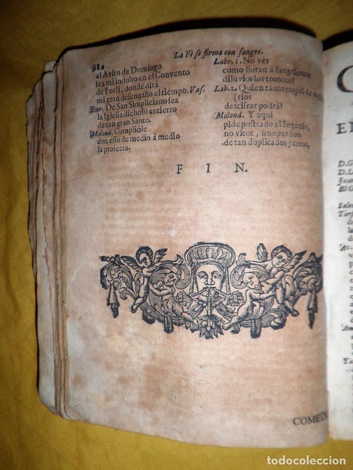 Libros antiguos: AMENO JARDIN DE COMEDIAS - AÑO 1734 - COMEDIAS SIGLO DE ORO ESPAÑOL - PERGAMINO·MUY RARO. - Foto 9 - 148475150