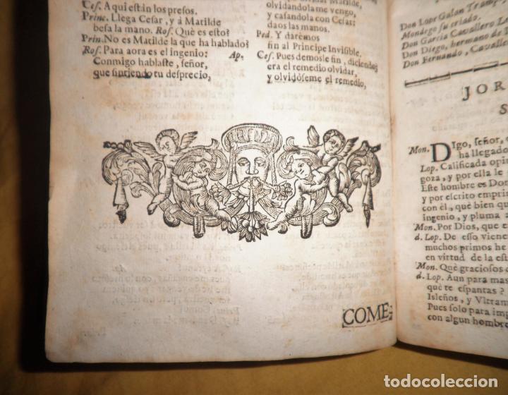 Libros antiguos: AMENO JARDIN DE COMEDIAS - AÑO 1734 - COMEDIAS SIGLO DE ORO ESPAÑOL - PERGAMINO·MUY RARO. - Foto 15 - 148475150