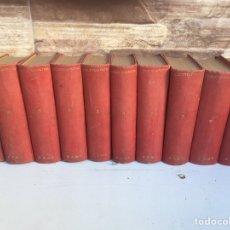 Libros antiguos: TOMOS DE BIBLIOTECA PATRIA. Lote 148694100