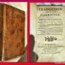 Libros antiguos: AÑO 1788: TRADUCCIÓN DE LA VIDA AGRÍCOLA Y DESCRIPCIÓN DE LA GERMANIA. RARO LIBRO DE TÁCITO.. Lote 148798926