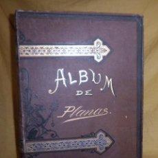 Libros antiguos: ALBUM DE GRABADOS DE D.EUSEBIO PLANAS - AÑO 1885 - EXPECTACULAR.. Lote 148825722