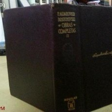 Old books - F.M. DOSTOYEVSKI - OBRAS COMPLETAS - TOMO II - ED. AGUILAR - AÑO 1966 - 148826130