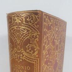 Libros antiguos: VIAJE DE ESPAÑA. ANTONIO PONZ. EDIT M. AGUILAR. MADRID. 1947.. Lote 148899730