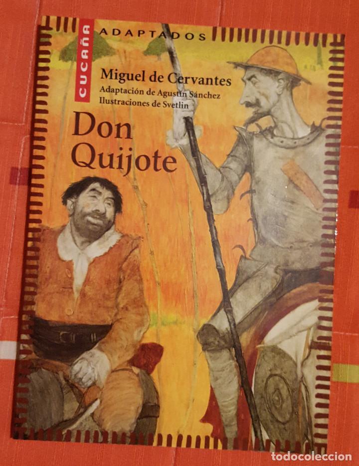 DON QUIJOTE MIGUEL DE CERVANTES ADAPTACION DE AGUSTIN SANCHEZ AGUILAR (Libros antiguos (hasta 1936), raros y curiosos - Literatura - Narrativa - Clásicos)